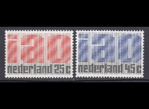 Niederlande Mi. 912-913 postfrisch 50 Jahre Internationale (ILO) 1969 (80065
