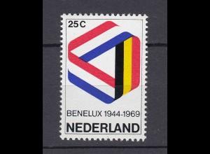 Niederlande Mi. 926 postfrisch 25 Jahre Zollunion 1969 (80068