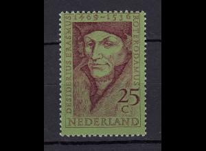 Niederlande Mi. 927 postfrisch 500 Geburtstag Erasmus von Rotterdam 1969 (80069