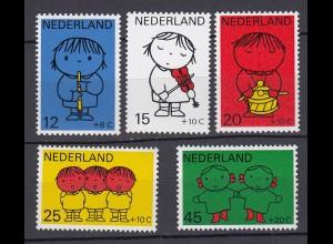 Niederlande Mi. 928-932 postfrisch Voor het Kind 1969 (80070