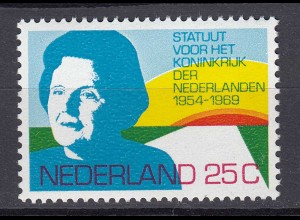 Niederlande Mi. 933 postfrisch Statut für das Königreich 1969 (80071
