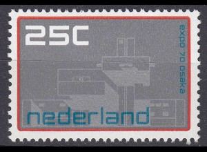 Niederlande Mi. 935 postfrisch Weltausstellung EXPO 1970 (80073