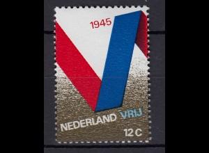 Niederlande Mi. 946-947 postfrisch 25 Jahrestag der Befreiung 1970 (80077