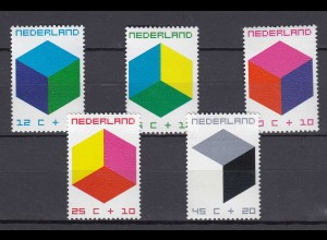 Niederlande Mi. 951-955 postfrisch Voor het Kind 1970 (80078