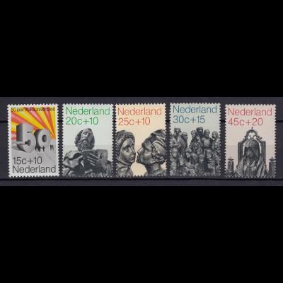 Niederlande Mi. 958-962 postfrisch Sommermarken 1971 (80080