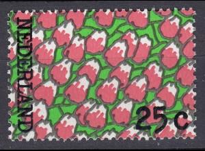 Niederlande Mi. 1006 postfrisch Blumen 1973 (80091