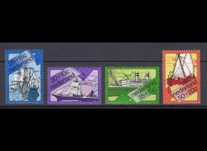 Niederlande Mi. 1007-1010 postfrisch Sommermarken 1973 (80092