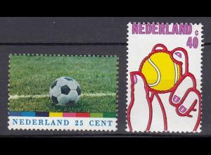 Niederlande Mi. 1030-1031 postfrisch Sport Fußball-Weltmeisterschaft 1974 (80099