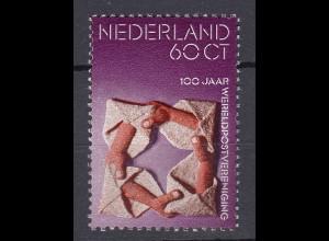Niederlande Mi. 1038 postfrisch 100 Jahre Weltpostverein 1974 (80102