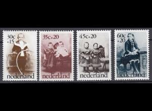Niederlande Mi. 1039-1042 postfrisch Voor het Kind 1974 (80103