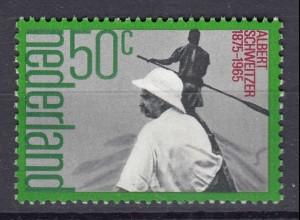 Niederlande Mi. 1054 postfrisch Altbert Schweitzer 1975 (80107