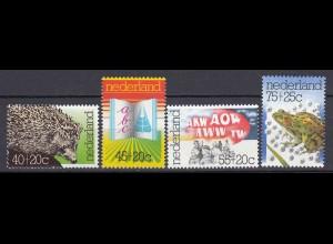 Niederlande Mi. 1070-1073 postfrisch Sommermarken 1976 (80114