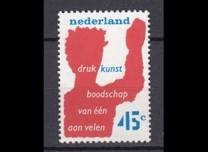 Niederlande Mi. 1081 postfrisch Druckereinverband 1976 (80120