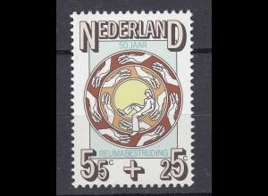 Niederlande Mi. 1082 postfrisch Bekämpfung Rheumatismus 1976 (80121