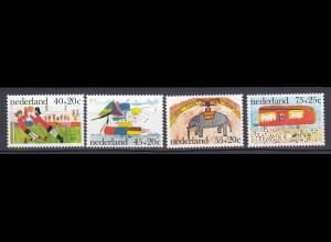 Niederlande Mi. 1088-1091 postfrisch Voor het Kind 1963 (80122