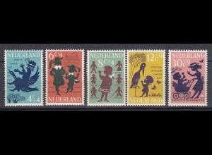 Niederlande Mi. 802-812 postfrisch Voor het Kind 1963 (80124
