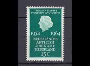 Niederlande Mi. 835 postfrisch Antillen Suriname 1964 (80129