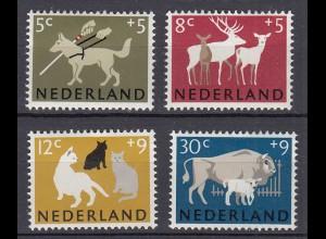 Niederlande Mi. 818-821 postfrisch Sommermarken 1964 (80135