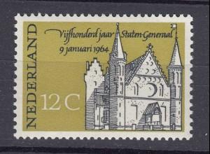 Niederlande Mi. 817 postfrisch 1964 500 Jahrestag Generalstaaten (80136