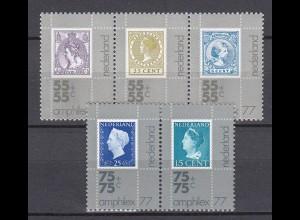 Niederlande Mi. 1083-1078 postfrisch 1976 zur AMPHILEX 1977 (80139