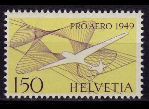 Schweiz Mi. 518 postfrisch Pro Aero 1949 (11236