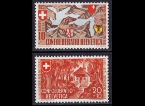 Schweiz Mi. 396-397 postfrisch Eidgenossenschaft 1941 (11259