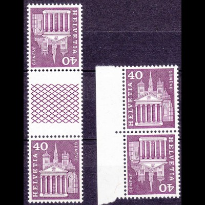 Schweiz Mi. Zusammendruche K54+KZ31 H postfrisch (11288