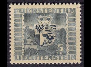 Lichtenstein - Mi. 243 postfrisch Freimarke Wappen 1945 (11295
