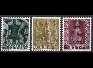 Liechtenstein Mi. 386-388 postfrisch Weihnachten 1959 (11314