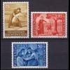 Liechtenstein Mi. 395-397 postfrisch Freimarken 1960 (11321