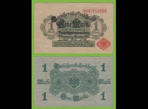 Darlehnskassenschein 1 MARK 1914 Ros. 51c XF/aUNC (19542