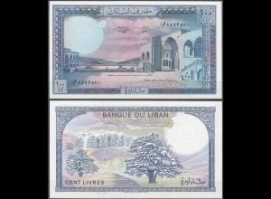 LIBANON - LEBANON 100 Livres Banknote 1988 UNC Pick 66d (11979