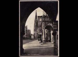 AK Münster Westfalen Prinzipalmarkt mit Bogen v.Barmen-Rostock (6854