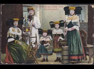 AK Litho Trachten Schaumburg Lippe (3641