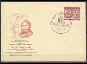 Berlin FDC 1954 Mi.Nr. 125 Borsig Denkmal (10521
