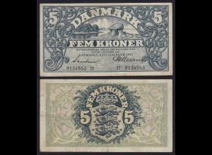 DÄNEMARK - DENMARK 5 KRONER 1942 VF Pick 30g (19871