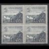 3.Reich DR 1939 Michel Nr. 731 ** postfr. 4 Pfennig 4er Block Mi. 36 € (19911