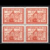 3.Reich DR 1939 Michel Nr. 706 ** postfr. 8 Pfennig 4er Block Mi. 20 € (19907