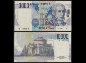 ITALIEN - ITALY 10000 10.000 Lire Banknote 1984 VF Pick 112b (19960