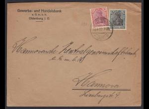 DR Infla Mif. 922 1 1/4 Mk + 75 Pfg. Bankbrief Oldenburg-Hannover Infla geprüft