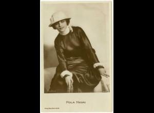 AK Pola Negri Schauspielerin Film Verlag Ross Berlin (3069
