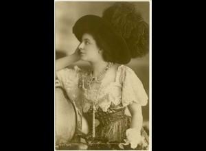 AK Geraldine Farrar Opernsängerin gelaufen 1903 Opern (3066