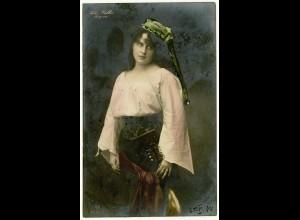 AK Pieta Walter als Mignon Opernsängerin gelaufen 1904 Opern (3065