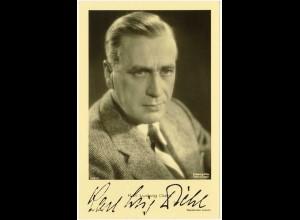 AK Karl Ludwig Diehl Schauspieler Film mit Autogramm (3061