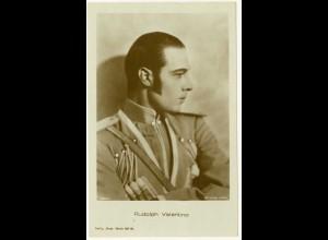 AK Rudoph Valentino Schauspieler der Stummfilmzeit Film (3058