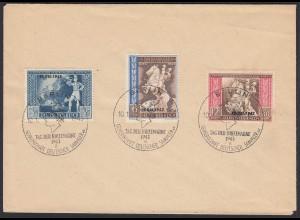DR Drittes Reich Mi. 823-25 1942 SST Tag der Briefmarke (20070