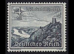 DR Drittes Reich 4 Pfennig 1939 Mi. 731 WHW Drachenfels Mi 9,00 € (20075
