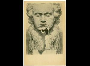 AK Kunstkarte Kohlefotogram Beethoven (2946