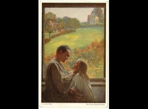 AK Kunstkarte L.Fahrenkrog Die Seele deines Kindes (2949