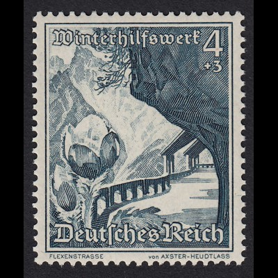DR Drittes Reich 4 Pfennig 1938 Mi. 676 WHW Mi 11,00 € postfrisch (20108
